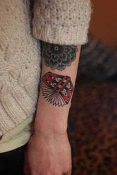 Traditional style book tattoo