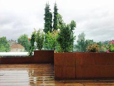 BEDD Plantekasser i system Kos, Pergola, Sidewalk, Exterior, Plants, Outdoor, Instagram, Patio, Outdoors