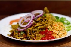 Just Vege in the vegetarian hub of Kallio, Helsinki offers vegetarian fast food packed with Mediterranean and Middle Eastern flavours <3
