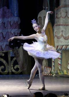 Ashley Garner as the Dew Drop Fairy from a production of Nutcracker Suite