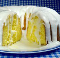 "Lemon Bundt Cake   ""JIFFY"" Mix . America's Favorite . From Chelsea Milling Company"