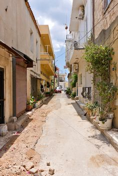 Typical Street of old Famagusta, Cyprus under Turquish occupation since too long…  Famagusta, THE REPUBLIC of CYPRUS.