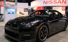 On my wish list<3 All black everythingggg Nissan GT-R