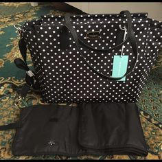 Brand new Kate Spade diaper bag New with tags Kate Spade diaper bag. Clomes from smoke free home. Paid $298 kate spade Bags Totes
