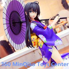 (34.09$)  Buy here - http://ail0c.worlditems.win/all/product.php?id=32795456174 - My Teen Romantic Comedy SNAFU Yukinoshita Yukino Kimono Ver 1/6 Scale Painted Figure Collectible Model Toy RETAIL BOX WU986