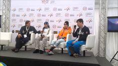 Veronika Velez-Zuzulová - Tlačová konferencia po slalome SP v Jasnej Fis World Cup, Skiing, Author, Ski