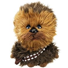 STAR WARS CHEWBACCA TALKING PLUSH-instead of a teddy bear my kids needs a chewbacca
