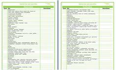 Opstarten van een schooljaar -checklist