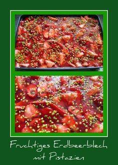 'Fruchtiges Erdbeerblech'