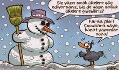 Kardan Adam Karikatürleri