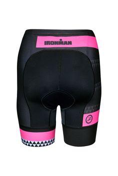 "IRONMAN Women's Zoot 6"" Triathlon Shorts - Pink | Triathlon Gear"