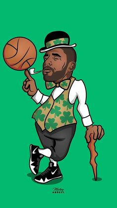KYRIE IRVING BOSTON CELTICS WALLPAPER