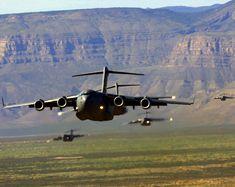 Dropzone Deliverance - C-17 Formation