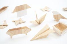 wood-like papper origami Diy Home Crafts, Arts And Crafts, Paper Crafts, Wood Crafts, Paper Pop, Origami Paper Art, Paper Engineering, Paper Folding, Wood Design