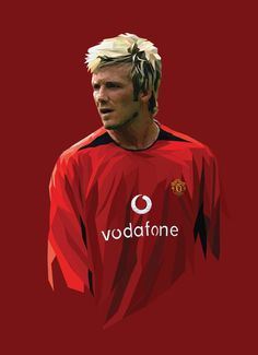 back in early when football was not just messi and ronaldo. David Beckham Manchester United, Manchester United Legends, Manchester United Players, Real Madrid Football, World Football, Football Art, David Beckham Wallpaper, David Beckham Soccer, Real Madrid Wallpapers