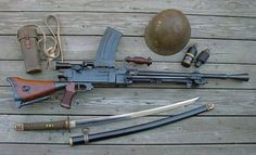 WWII Japanese Type 99 Light Machine Gun in 7,62x51mm