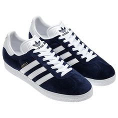 Adidas Gazelle. My 90s teenage shoe of choice. Wore them with everything, even dresses!