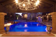 We created a backyard retreat with this one!  Here's a classy and stylish haven for a family in Paradise Valley.