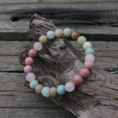 Peaceful Heart Calming Necklace & Bracelet – Aromantly Healing Bracelets, Crystal Bracelets, Crystals And Gemstones, Gemstone Beads, Bracelets With Meaning, Healing Meditation, Chakra Healing, Peaceful Heart, Accessories
