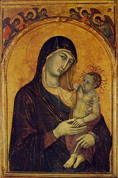 Duccio di Buoninsegna: Madonna col Bambino