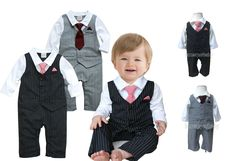 Newest arrival Baby Tuxedo Suit, Quality Little Set for your little man!