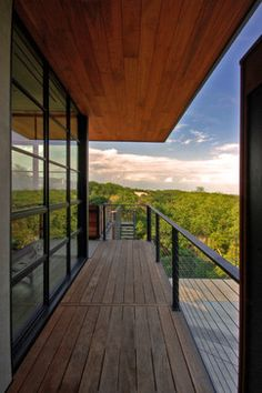 Hill Country Residence - modern - exterior - austin - Cornerstone Architects