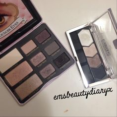 Too Faced Boudoir Eyes verus Maybelline quad in Taupe Tease (Dare To Be Bare spring 2014 collection). Is it a dupe? Check out my instagram to find out! [emsbeautydiaryx]