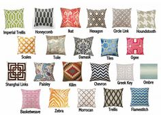 OB fabric pattern names 600x428 All You Need to Know About Trendy Fabric Patterns and Their Names