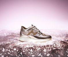 #HOGAN ATELIER Interactive Diadem: a precious Haute Couture shoe of unique and exclusive creation.  Feminine splendour.