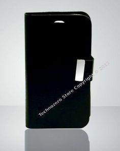 Samsung Case Galaxy S4 GT-i9500 Case Black Book Type Smartphone Cover