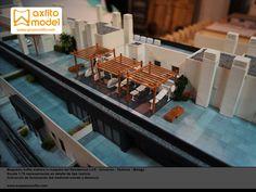 Maqueta residencial LAR UNIVERSIA maqueta en detalle a escala 1:75, inmobiliaria, taller de maquetas en Málaga, taller de maquetas en Granada, maquetas en Sevilla, maquetas profesionales, arquitectura, grupo lar