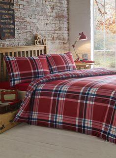 Canterbury Check Bedding Set - bedding sets - Bed Linen - Home, Lighting & Furniture
