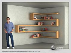 fitted shelves