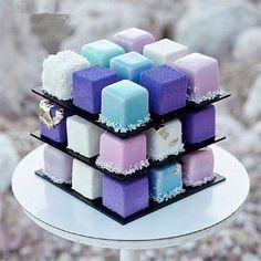 Cute Desserts, No Bake Desserts, Delicious Desserts, Beautiful Cakes, Amazing Cakes, Graduation Desserts, Fathers Day Cake, Cake Bites, Square Cakes