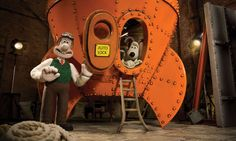 Wallace and Gromit - remember this from the 90s? used to watch it all the time