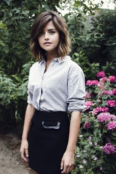 Jenna-Louise Coleman - Jessie Craig photoshoot for Flaunt Magazine, September 2015