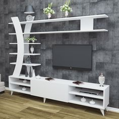 How and where to make a modern TV cabinet design? Modern Tv Cabinet, Modern Tv Wall Units, Tv Cabinet Design, Tv Wall Design, Tv Unit Decor, Tv Wall Decor, Tv Unit Furniture, Furniture Design, Tv Wanddekor