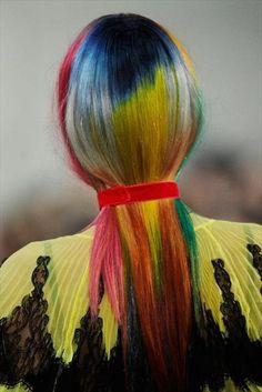 ℒᎧᏤᏋ her rainbow hair!!!! ღ❤ღ