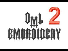 Learn to Digitize Embroidery: Using Fonts Part 2 - YouTube