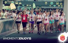 #momentoEnjoy15 es cuando la banda de #enjoy15 llega a los parques!