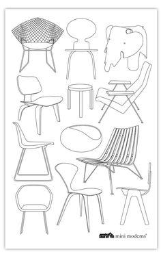 Image of Sitting Comfortably? Tea Towel