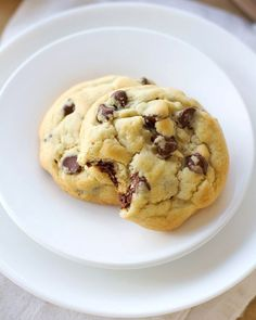 perfect chocolate chip cookies-3
