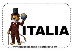 Fichas proyecto la vuelta al mundo Mickey Mouse, China, India, Cartoon, Alba, Countries, San Francisco, Sunshine, Chocolate