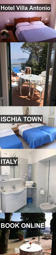 Hotel Hotel Villa Antonio in Ischia Town, Italy. For more information, photos, reviews and best prices please follow the link. #Italy #IschiaTown #HotelVillaAntonio #hotel #travel #vacation