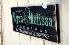 This is one of our most popular Established Signs here at Jetmak Studios. It's a hand painted rustic hand crafted distressed finish using on a natural grade A pine board. Elegant typeface and corner e