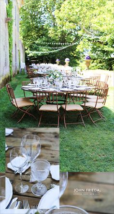 Romantic outdoor wedding settings #WeddingStyle #WeddingDecoration #WeddingFlowers #OutdoorWedding #weddinginspiration