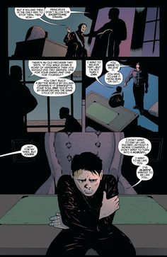 Damian wants to be like Bruce
