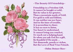 The Beauty of Friendship