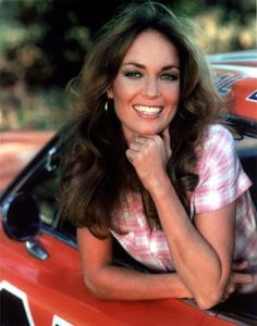 Ah yes, Daisy Duke!!  Lancaster and Thunderbolt and Lightfoot with Clint Eastwood.  She then hit TV stardom as one of the Duke cousins 'Daisy' in the TV Show The Dukes of Hazzard that ran from 1979 to 1985.  She starred with John Schneider (Bo) and Tom Wopat (Luke).   Read the full story>>