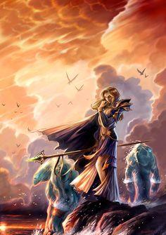 Warcraft Fan Art Gallery - Jaina Proudmoore